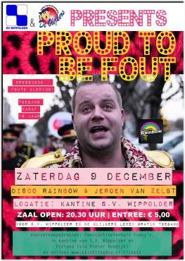 Poster foutfeest 2017
